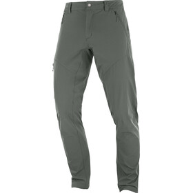 Salomon Wayfarer Tapered Pants Men grey